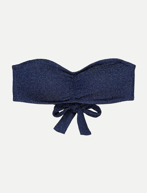 Bandeau de maillot de bain lurex femme