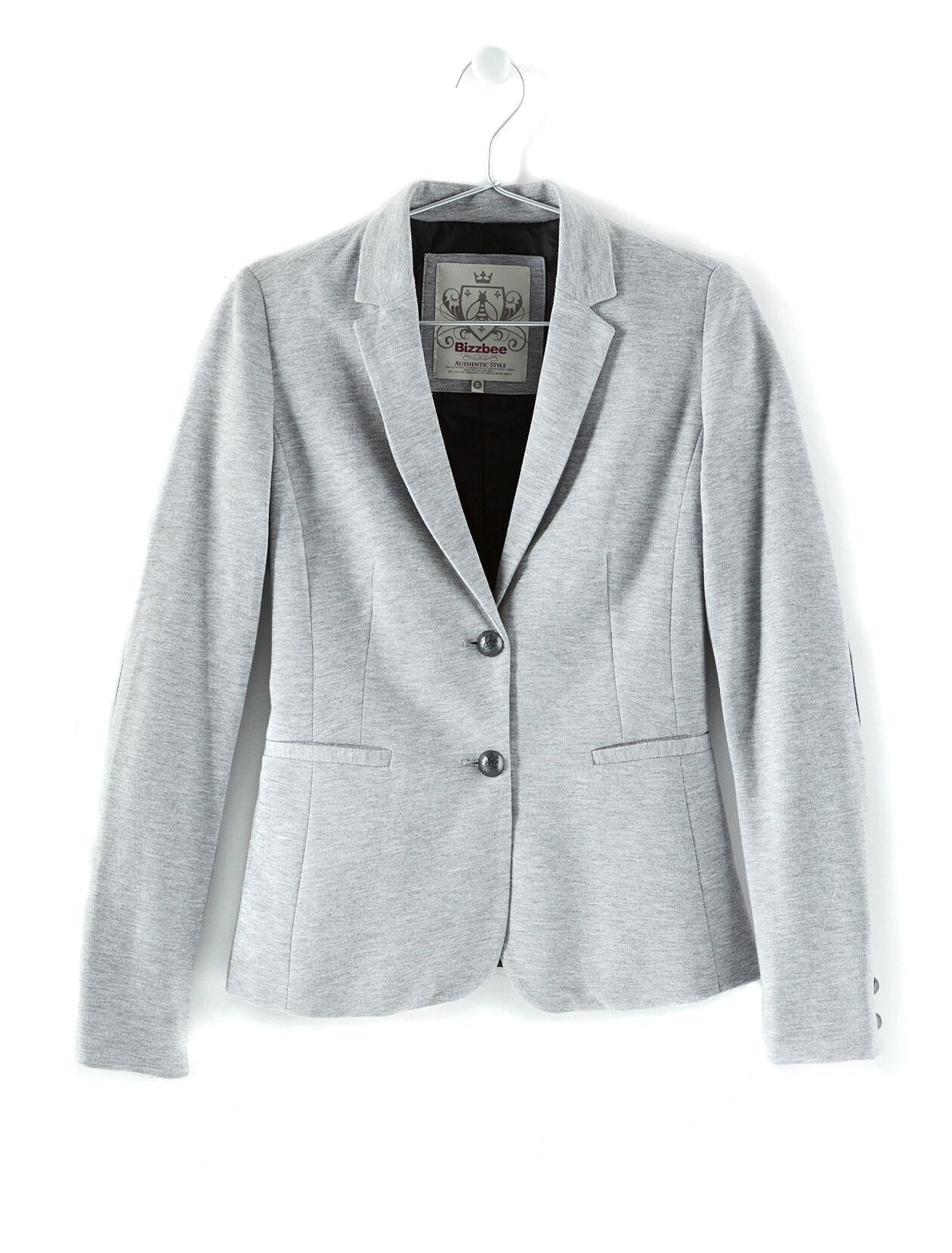 Veste grise avec coudiere femme