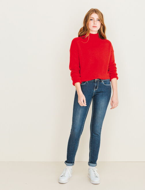 Jean skinny basique femme