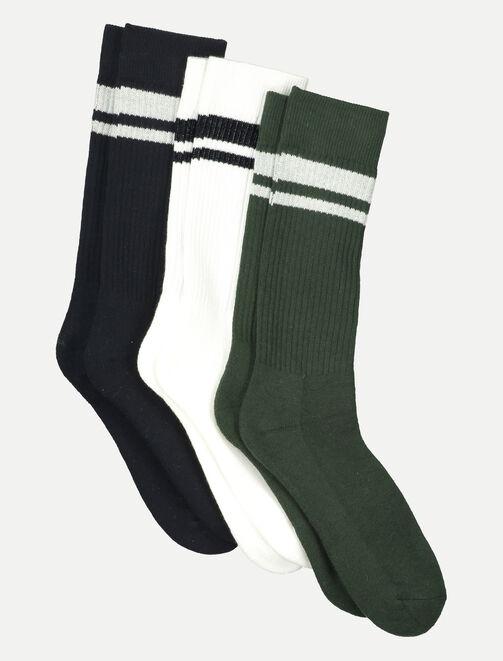 Chaussettes Sports Colorées homme