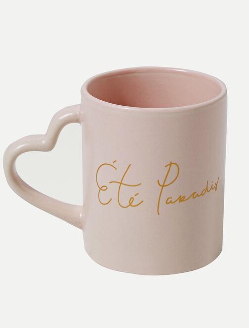 """Mug """"Eté Paradis"""" X Paulette tendances"""