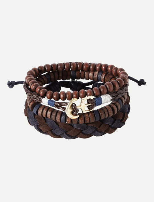 Lot de bracelets Boy homme