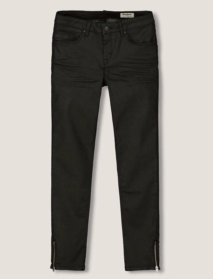 pantalon skinny enduit 7 8. Black Bedroom Furniture Sets. Home Design Ideas
