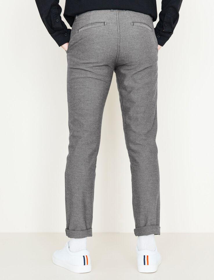 pantalon de ville homme gris chin moyen bizzbee. Black Bedroom Furniture Sets. Home Design Ideas