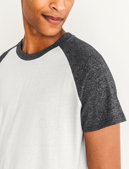 T-shirt raglan fantaisie homme