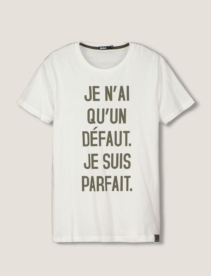 T shirt texte je suis parfait - T shirt personnalise photo et texte ...