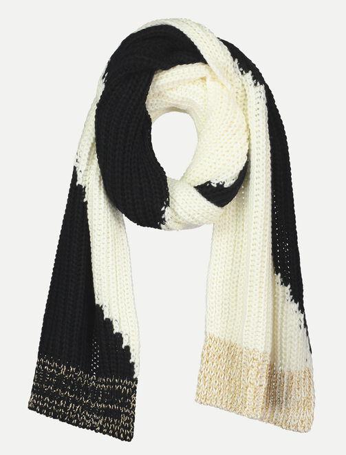 Grande écharpe tricot femme