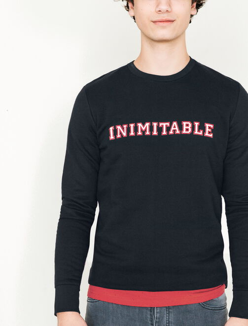 Sweat col rond inimitable homme