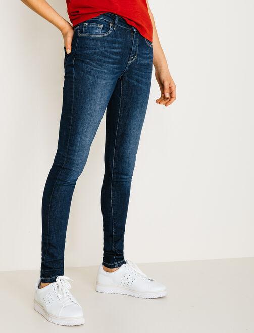 Jean skinny taille standard femme