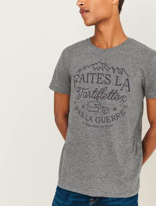 T-shirt Tartiflette homme
