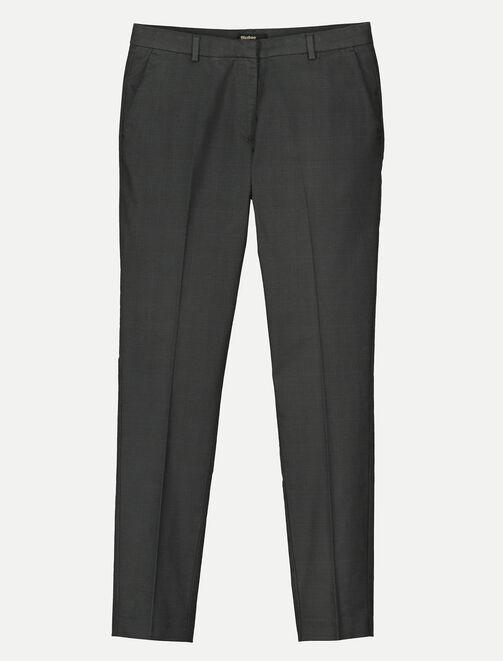 Pantalon à carreaux prince de Galles femme