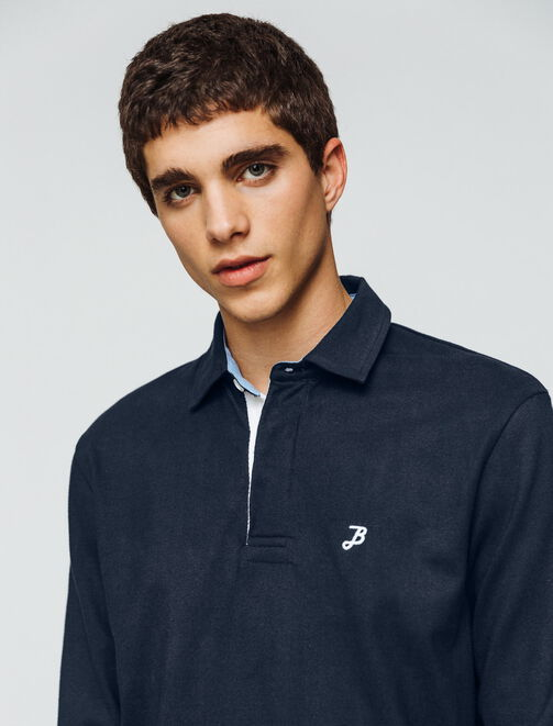 Polo style rugby homme
