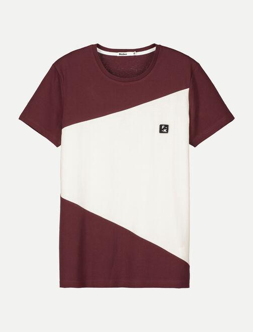 T-shirt néo color-block homme