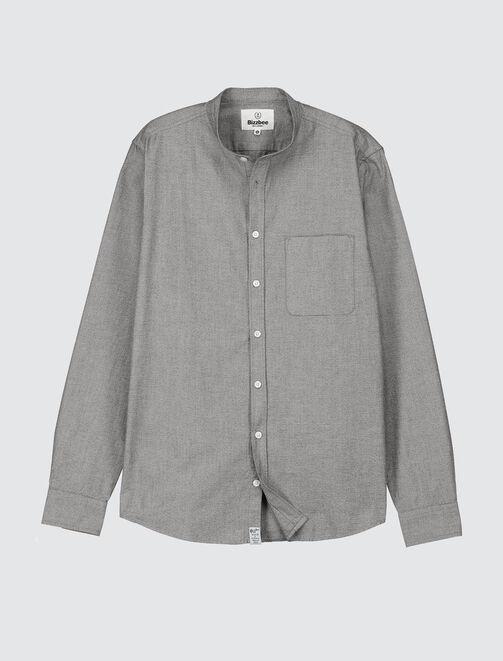 Chemise sans col  homme