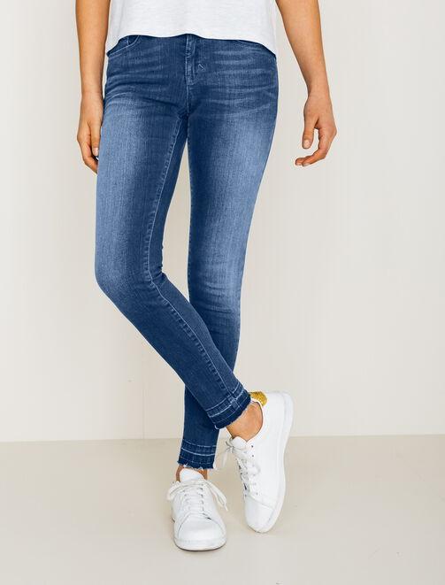 jeans femme jeans slim jeans skinny bizzbee. Black Bedroom Furniture Sets. Home Design Ideas