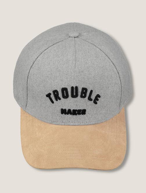 """Casquette """"Trouble Maker"""" homme"""