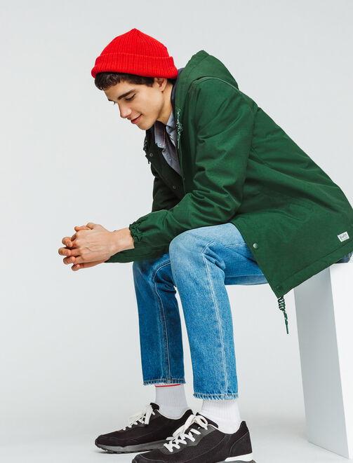 Coach jacket à capuche homme