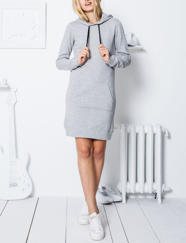 robe sweat capuche. Black Bedroom Furniture Sets. Home Design Ideas