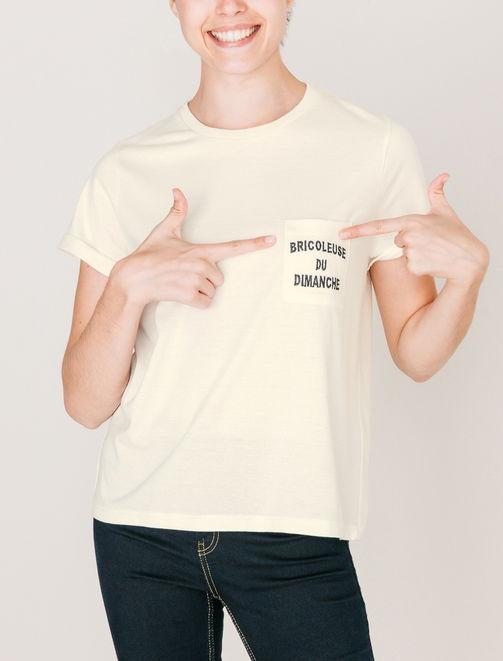 T-shirt Bricoleuse by La Gentle Factory  femme