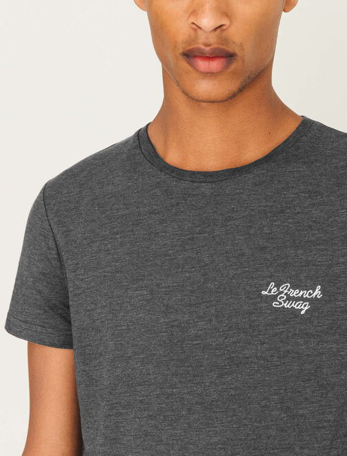"""T-shirt broderie """"Le French Swag"""" homme"""