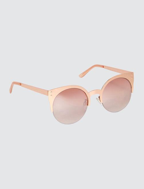 Lunettes de soleil yeux de chats femme