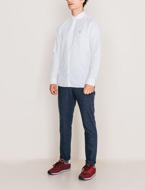 Pantalon urbain chiné homme