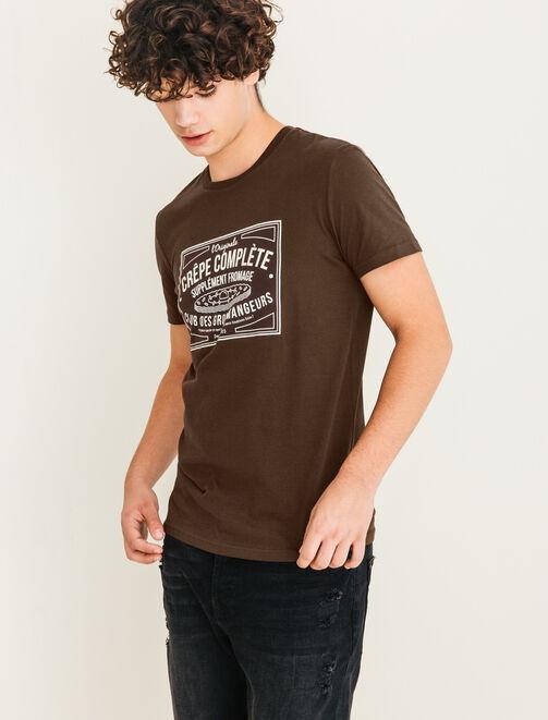 T-shirt Crêpe Complète homme