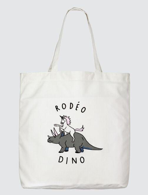 Tote Bag Licorne Dino femme