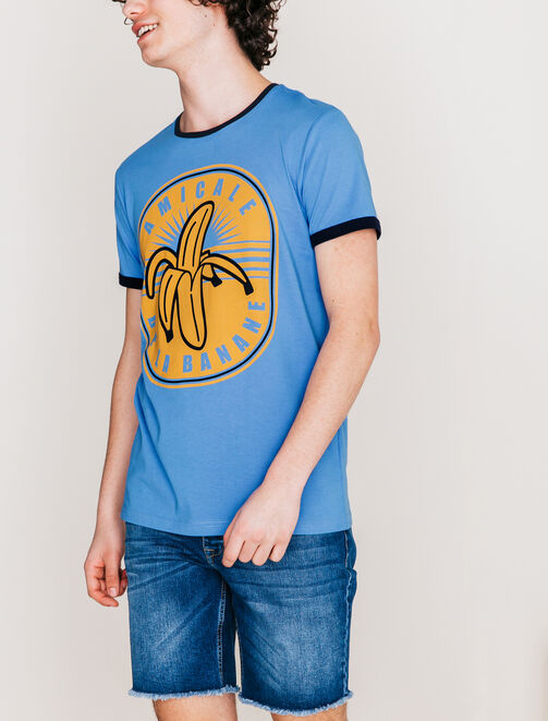 """Tee shirt """"amicale de la banane""""  homme"""