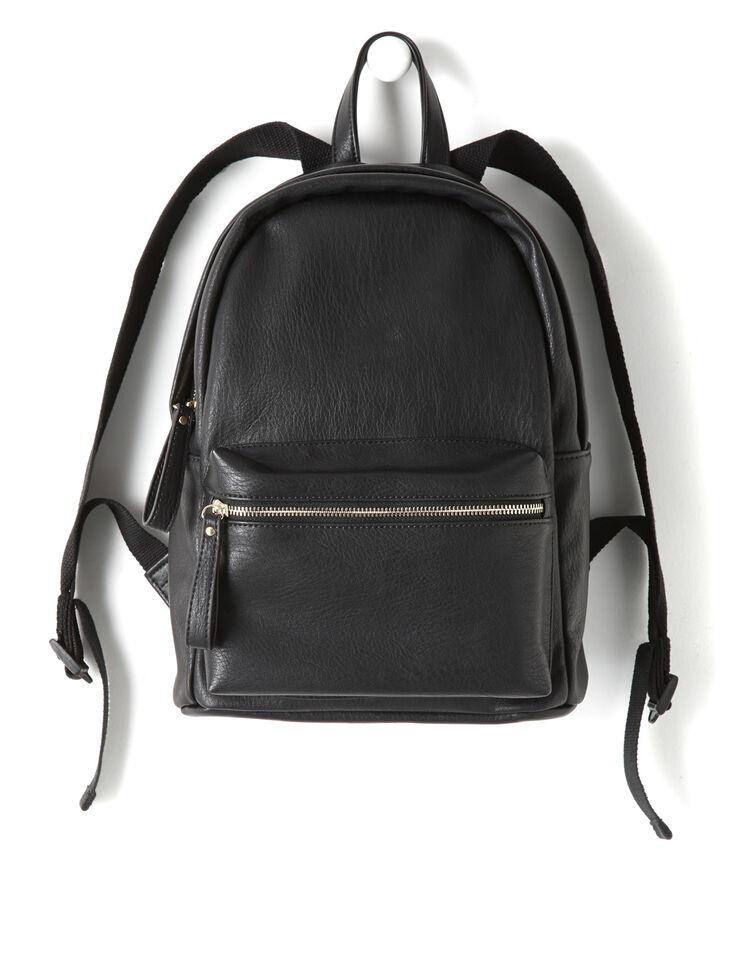 sac dos noir femme noir bizzbee