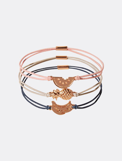 Bracelets fruits femme