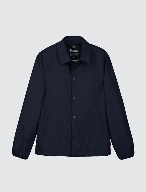 Coach jacket unie doublure fantaisie homme