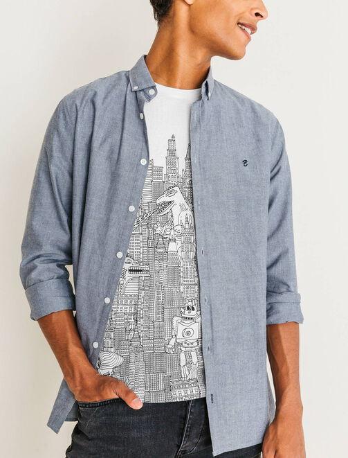 T-shirt Graphiste Masqué homme