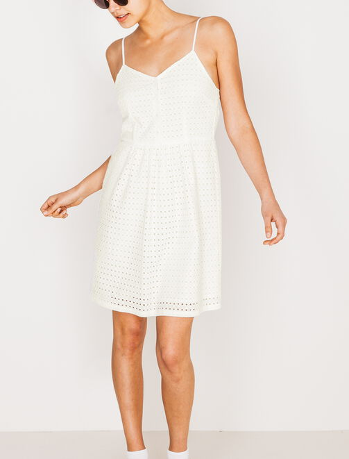 Robe broderie Anglaise  femme