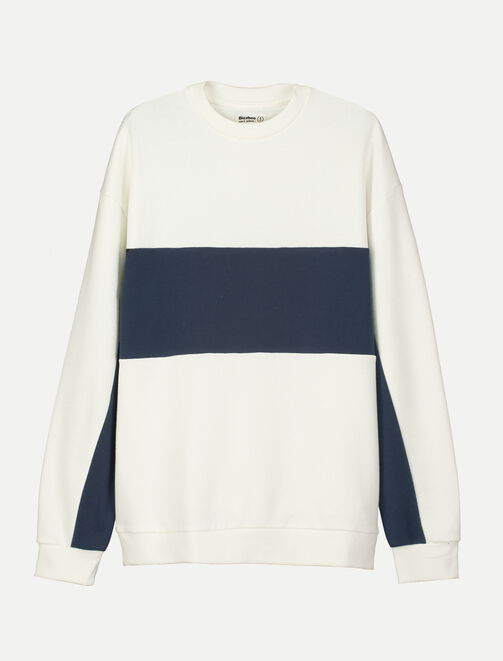 Sweat colorblock homme