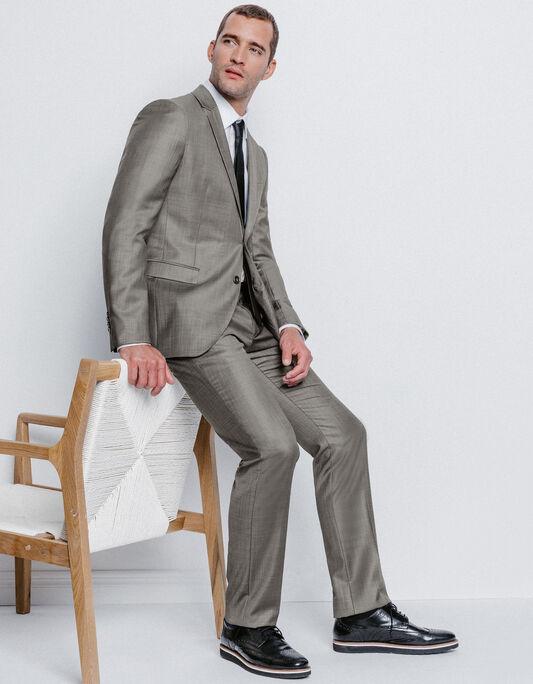 Costume homme en laine gris