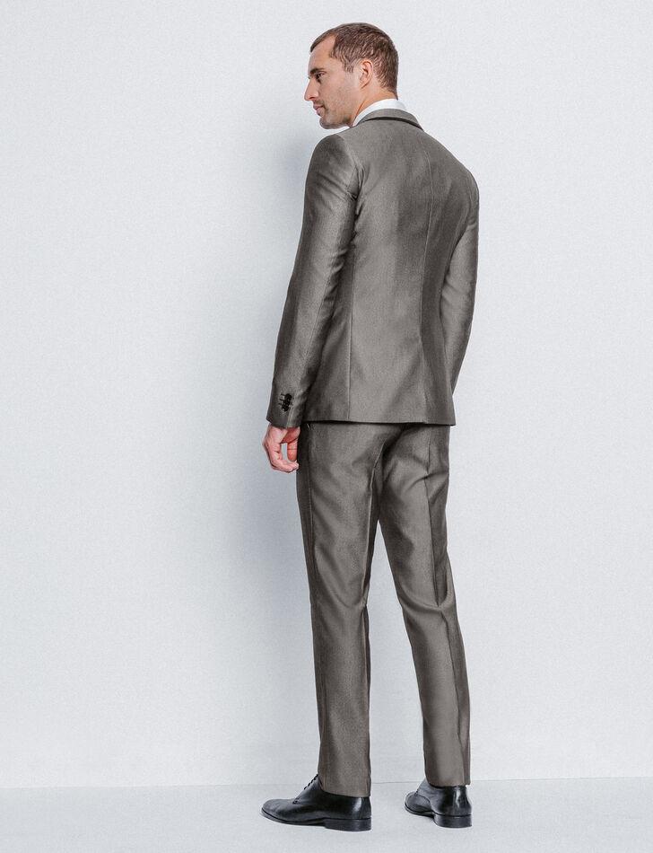 Costume homme slim gris fantaisie