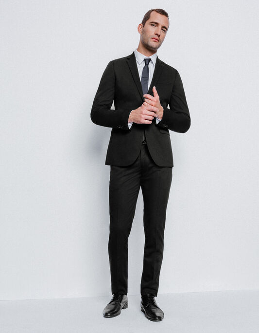 Costume homme slim noir