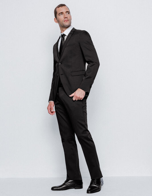 Costume homme regular noir