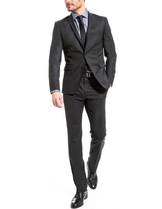 Costume laine confort noir