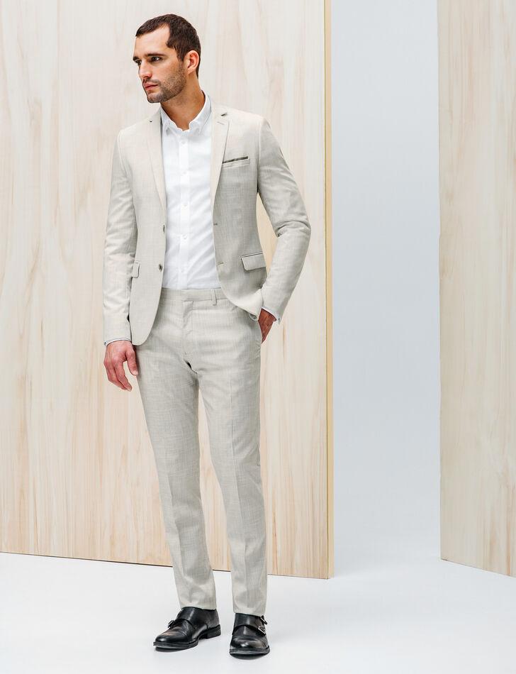 costume gris clair estival homme brice fr. Black Bedroom Furniture Sets. Home Design Ideas