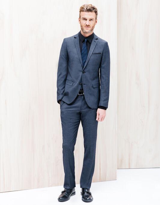 Costume homme veste costume pantalon costume brice - Costume homme mariage bleu ...