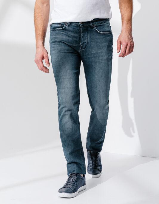 jeans slim délavé sans eau