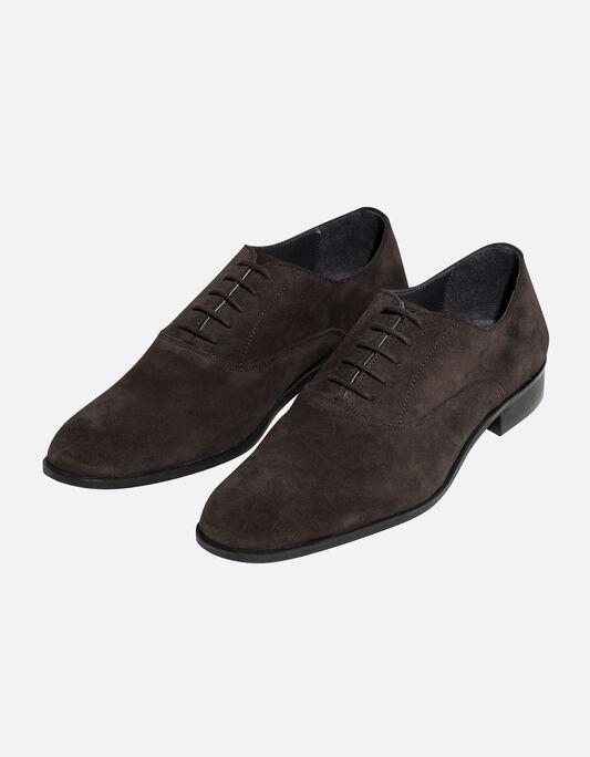 Chaussures Richelieu en daim