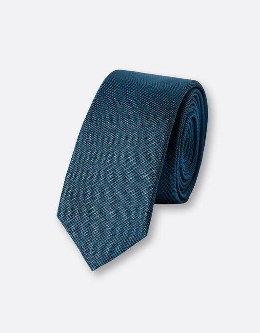 Cravate homme unie soie 5cm