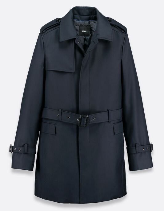 Manteau homme type trench