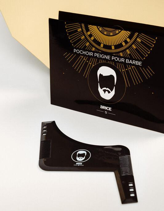 Pochoir peigne pour barbe