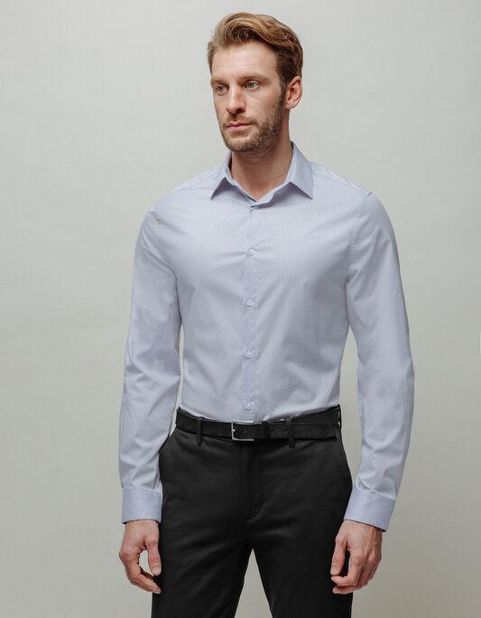 Chemise homme slim avec motifs