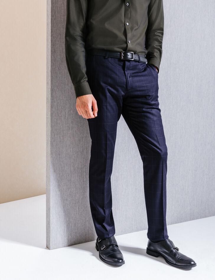 pantalon de costume homme bleu marine brice. Black Bedroom Furniture Sets. Home Design Ideas