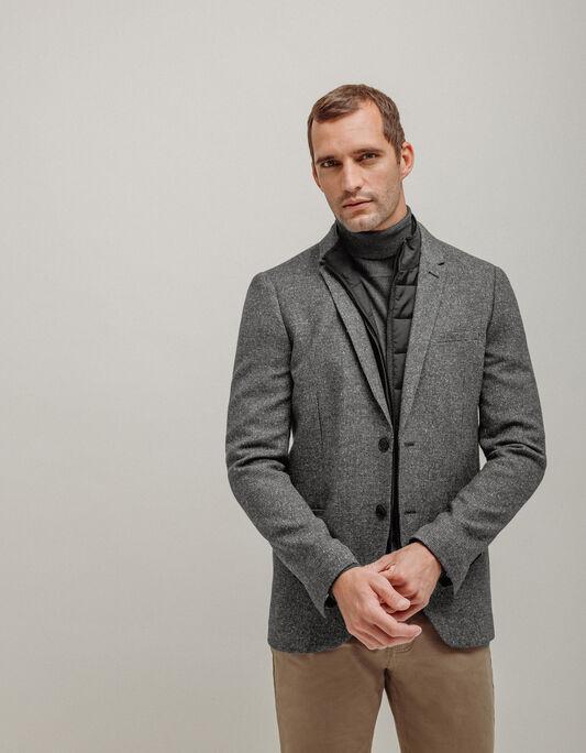 Veste costume homme regular à doublure